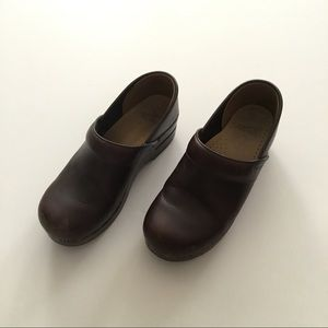 Brown Dansko Clogs